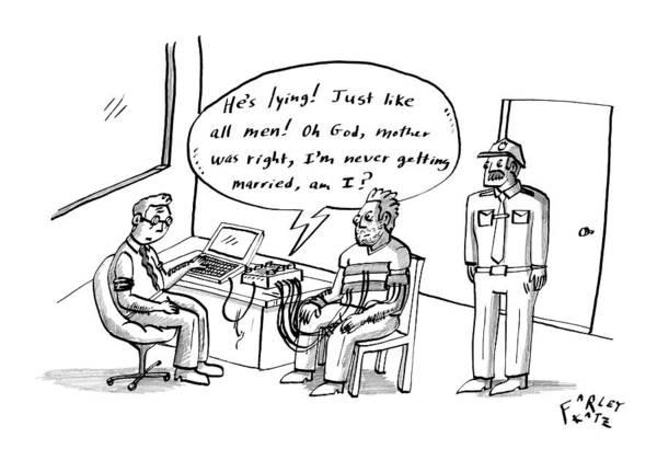 Wall Art - Drawing - New Yorker May 18th, 2009 by Farley Katz