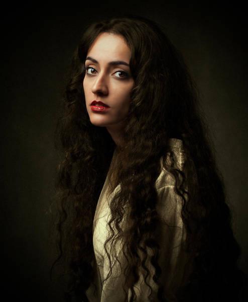 Hair Wall Art - Photograph - Untitled by Mehdi Mokhtari