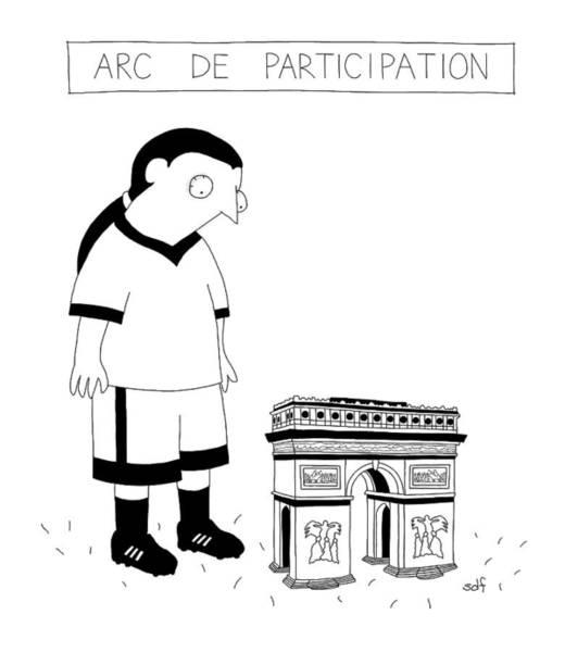 Team Drawing - New Yorker November 14th, 2016 by Seth Fleishman