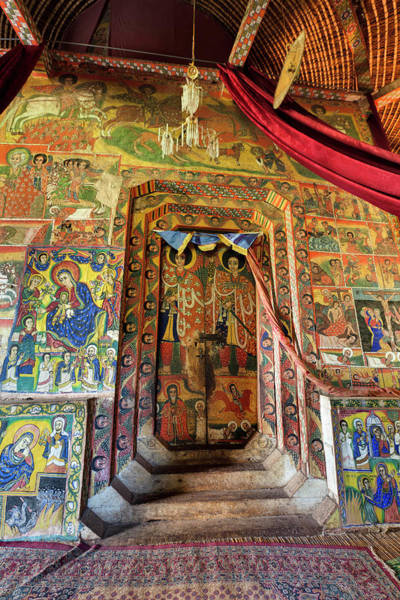 New Testament Photograph - Ura Kidane Meret Monastery, Lake Tana by Martin Zwick