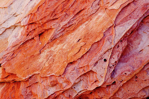 Eroded Wall Art - Photograph - Usa, Nevada, Valley Of Fire State Park by Jaynes Gallery