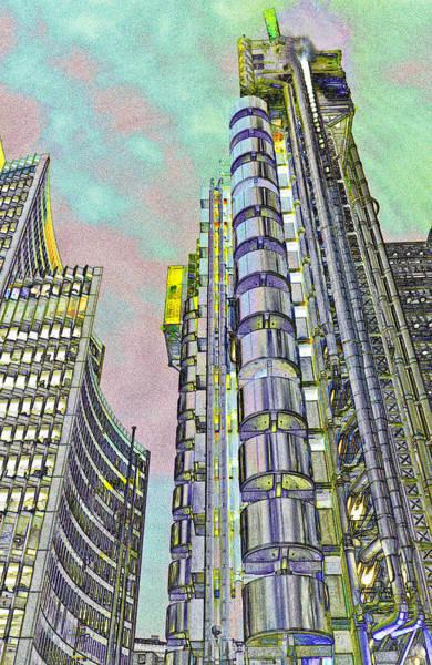 Insurance Digital Art - Willis Group And Lloyd's Of London Art by David Pyatt