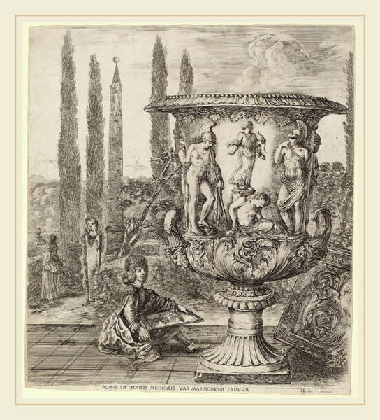 Wall Art - Drawing - Stefano Della Bella Italian, 1610-1664 by Litz Collection