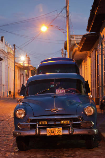 Calle Wall Art - Photograph - Cuba, Sancti Spiritus Province by Walter Bibikow