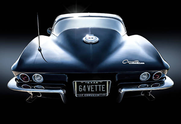 Corvette Wall Art - Digital Art - 64 Stinger by Douglas Pittman