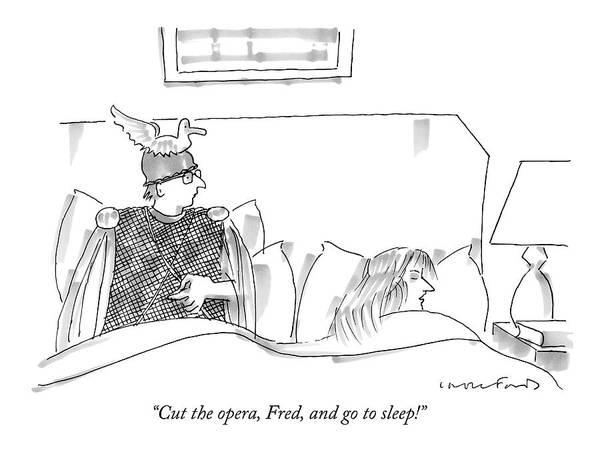 Cut The Opera Art Print