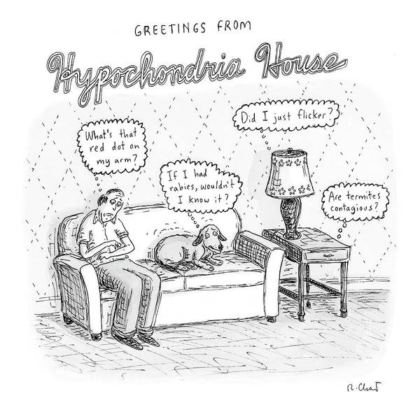 Furniture Drawing - New Yorker December 24th, 2007 by Roz Chast