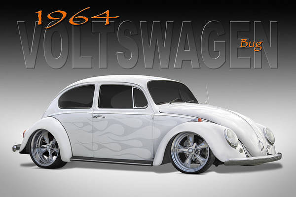 Wall Art - Photograph - 64 Volkswagen Beetle by Mike McGlothlen