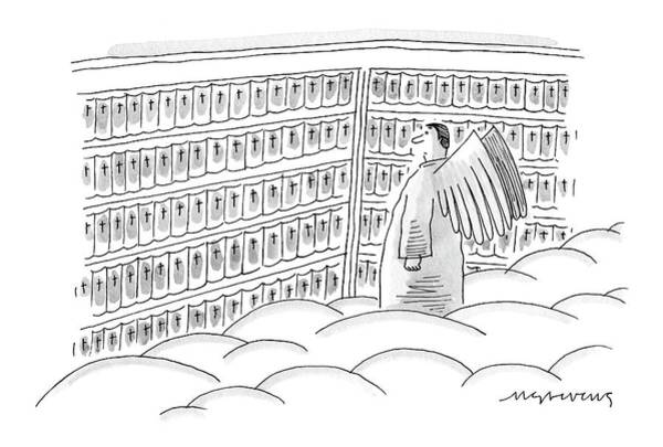 Bible Drawing - New Yorker June 12th, 2006 by Mick Stevens