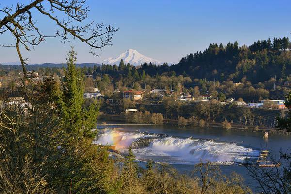 Mount Hood Photograph - Usa, Oregon, Portland by Jaynes Gallery