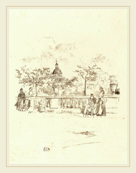 Wall Art - Drawing - James Mcneill Whistler American, 1834-1903 by Litz Collection