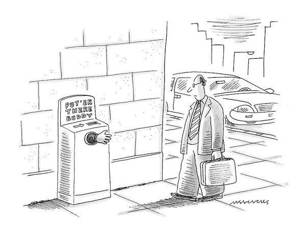 Invention Drawing - New Yorker November 21st, 2005 by Mick Stevens