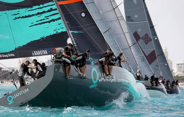 Photograph - Miami Sail Week by Steven Lapkin
