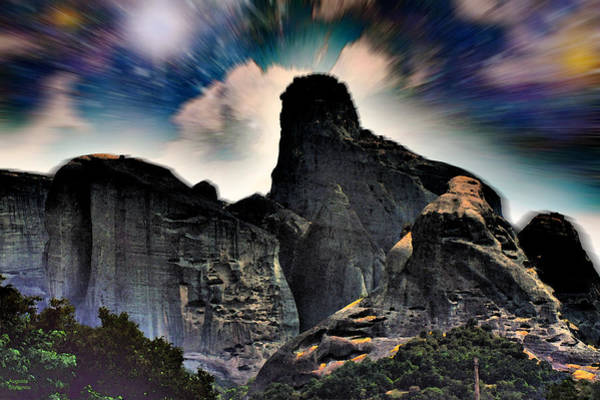 Photograph - Space Landscape by Augusta Stylianou