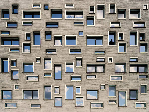 Wall Art - Photograph - 68 Windows And 1 Soul by Luc Vangindertael (lagrange)