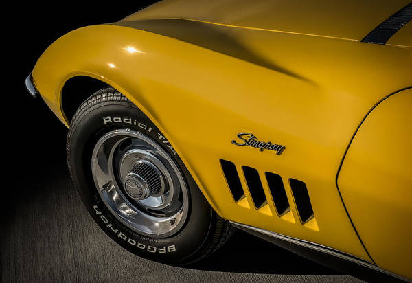 Chevrolet Digital Art - '69 Stinger by Douglas Pittman