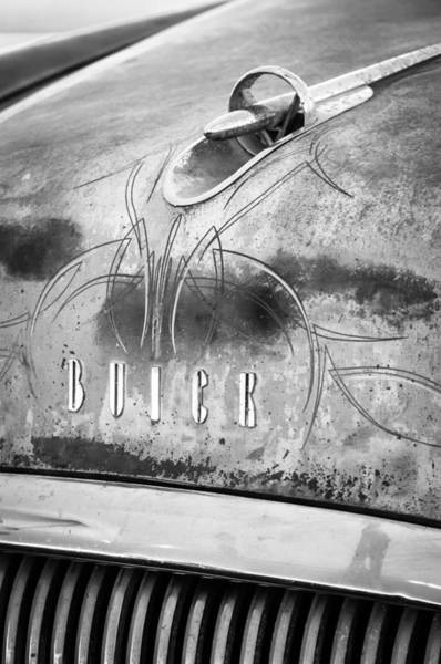Photograph - 1954 Buick Special Hood Ornament by Jill Reger