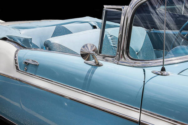 Dual Exhaust Photograph - 1956 Chevrolet Bel Air Convertible by Rich Franco