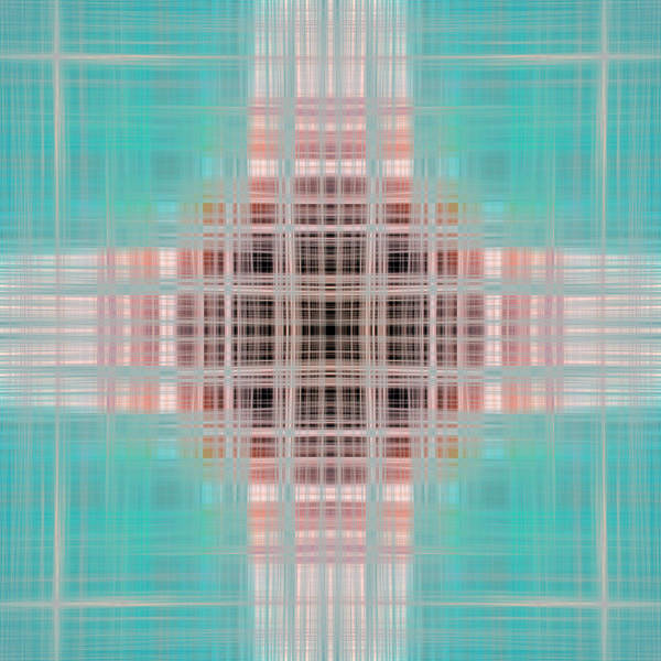 Symmetrical Digital Art - Abstract by Wallace Garrison
