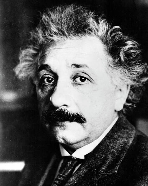 Astrophysical Wall Art - Photograph - Albert Einstein by Emilio Segre Visual Archives/american Institute Of Physics