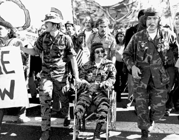 Photograph - Anti Vietnam War Demonstration by Underwood Archives Adler