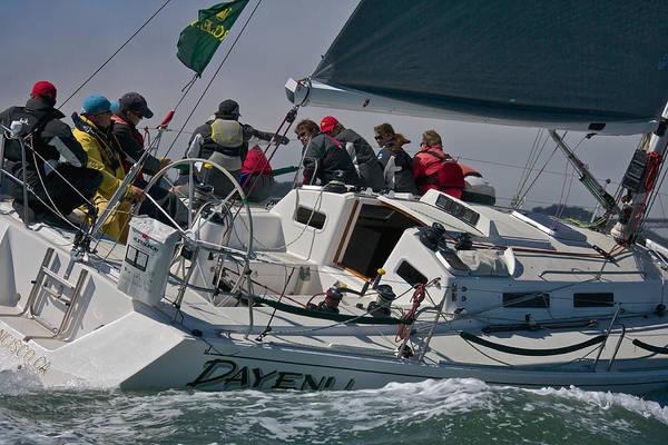 Photograph - Bay Sailing by Steven Lapkin
