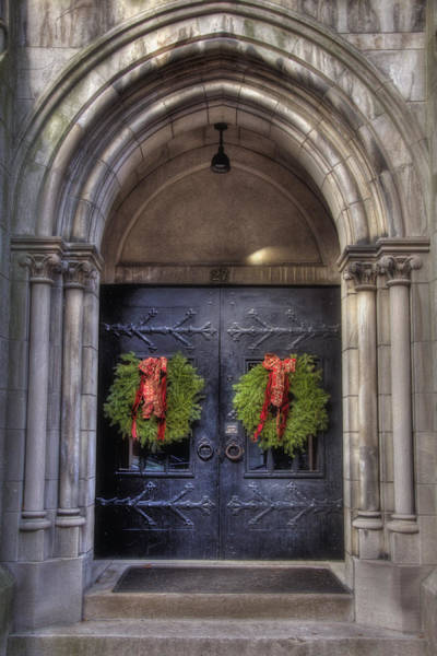 Photograph - Beacon Hill Doorways by Joann Vitali