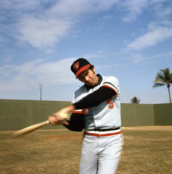 Baseball Hall Of Fame Photograph - Brooks Robinson by Retro Images Archive