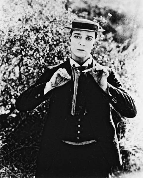 Comedy Photograph - Buster Keaton by Silver Screen