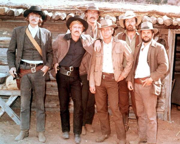Ted Photograph - Butch Cassidy And The Sundance Kid  by Silver Screen