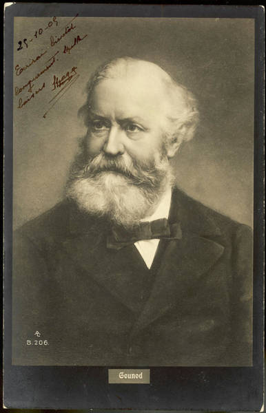 Wall Art - Photograph - Charles Gounod  French Musician by Mary Evans Picture Library