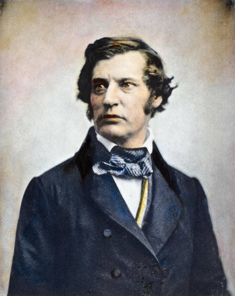 Photograph - Charles Sumner (1811-1874) by Granger