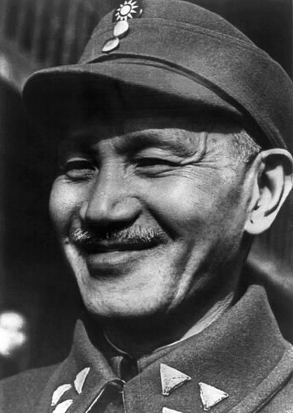 Wall Art - Photograph - Chiang Kai-shek (1887-1975) by Granger