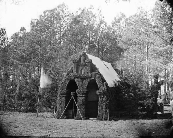 Wall Art - Photograph - Civil War Headquarters by Granger