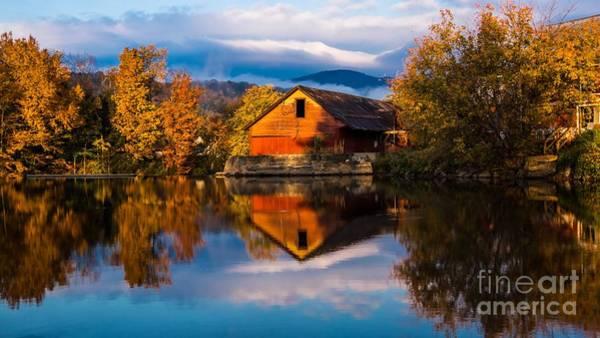 Classic Vermont Foliage. Art Print