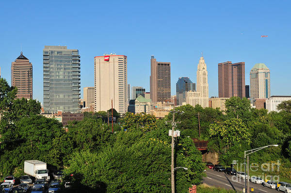 Photograph - Columbus Ohio Skyline Photo by Ohio Stock Photography