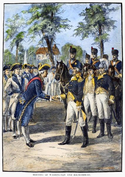 Photograph - Comte De Rochambeau by Granger
