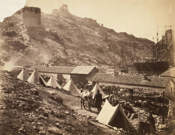Wall Art - Photograph - Crimean War Balaklava by Granger