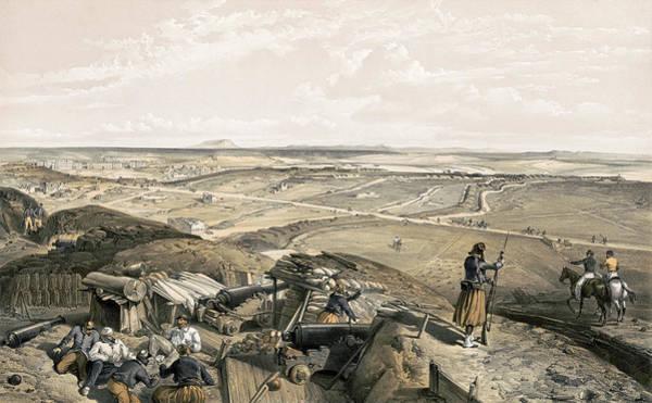 Wall Art - Painting - Crimean War Sevastopol by Granger