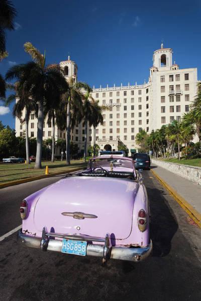 American Revolution Photograph - Cuba, Havana, Vedado, Hotel Nacional by Walter Bibikow