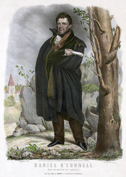 Painting - Daniel O'connell (1775-1847) by Granger