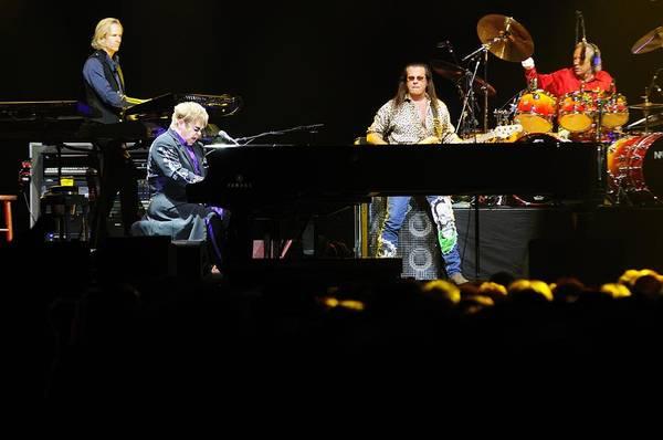 Photograph - Elton John by Jenny Potter