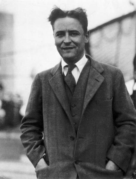 Photograph - F Scott Fitzgerald by Granger