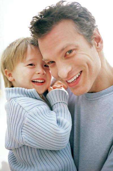 Parent Photograph - Fatherhood by Ian Hooton/science Photo Library