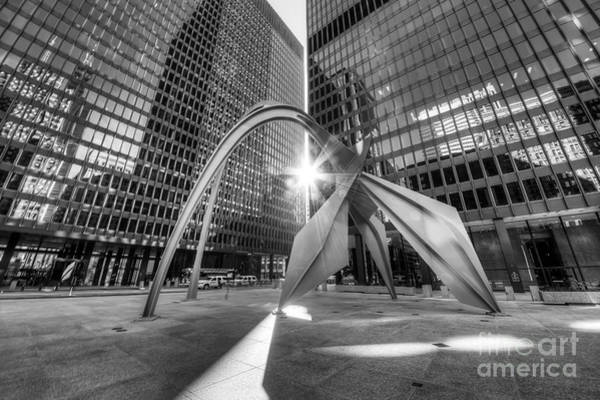 Loop Photograph - Federal Plaza  by Twenty Two North Photography
