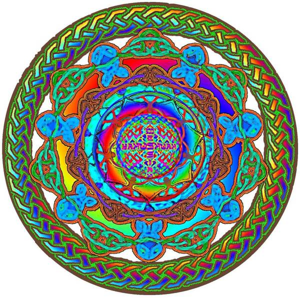 Digital Art - 7 Fish Rainbow Yahushuah Messiah by Hidden  Mountain