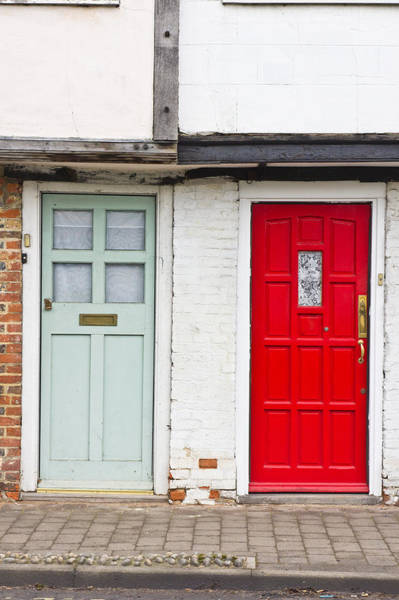 Architects Photograph - Front Doors by Tom Gowanlock