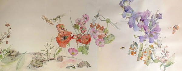 Wall Art - Painting - Garden Of Plenty Album by Debbi Saccomanno Chan
