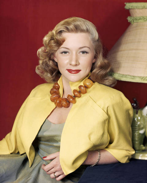 Gloria Photograph - Gloria Grahame by Silver Screen