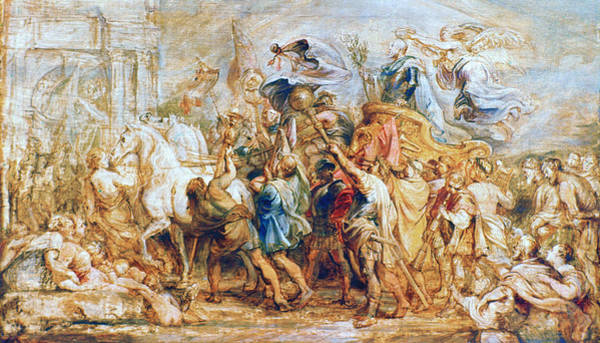 Victorious Painting - Henry Iv (1553-1610) by Granger
